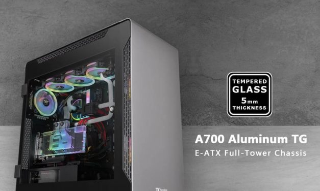 NP: Thermaltake A700 Aluminum Tempered Glass Edition Full Tower Chassis ya disponible