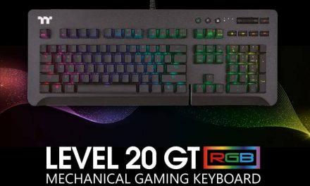 NP: Thermaltake Gaming te trae el 'Level 20 GT RGB Gaming Keyboard'