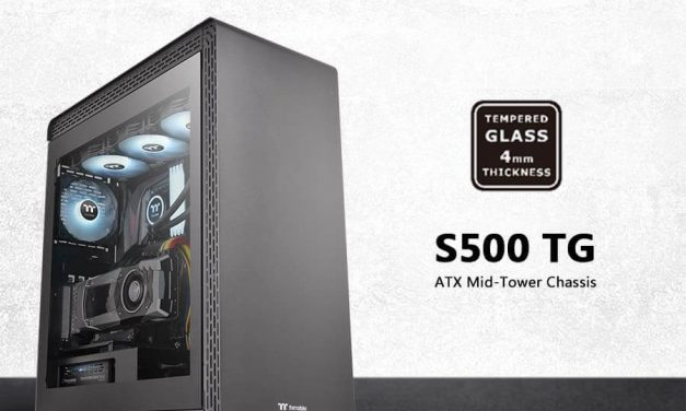 NP: Thermaltake S500 Tempered Glass Edition Mid-Tower Chassis ya está disponible en el mercado