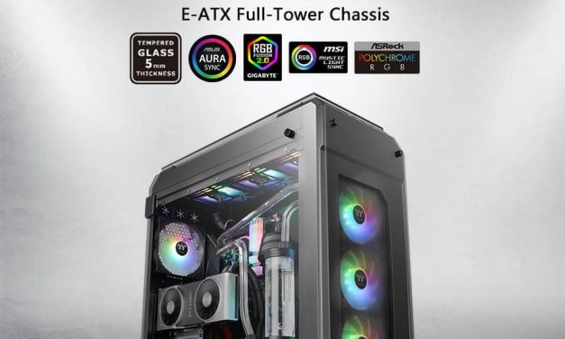 NP: Thermaltake View 71 Tempered Glass ARGB Edition Full-Tower Chassis ya disponible