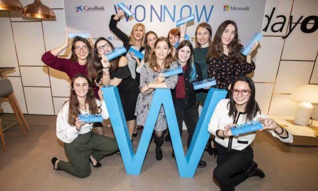NP: Un total de 440 alumnas de grados STEM de universidades españolas participan en los Premios WONNOW