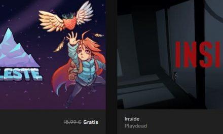 Inside y Celeste de forma totalmente gratuita en Epic Games Store