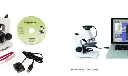 NP: Los kits de iniciación a la microscopía de Celestron nos traen dos nuevas referencias para principiantes