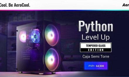 NP: Sube de nivel con la nueva semitorre Python de AeroCool