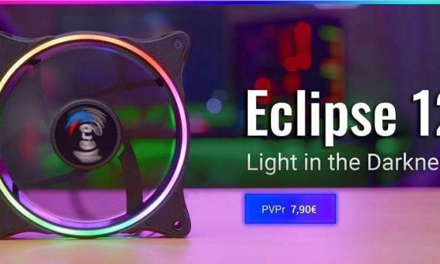 NP: Nuevo ventilador Eclipse 12 de AeroCool – 16.8 millones de colores y refrigeración profesional