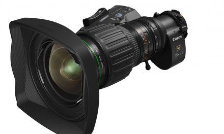 NP: Canon presenta el nuevo CJ15ex4.3B, un objetivo zoom portátil broadcast 4K, con un factor de aumento líder en su categoría y longitud focal angular