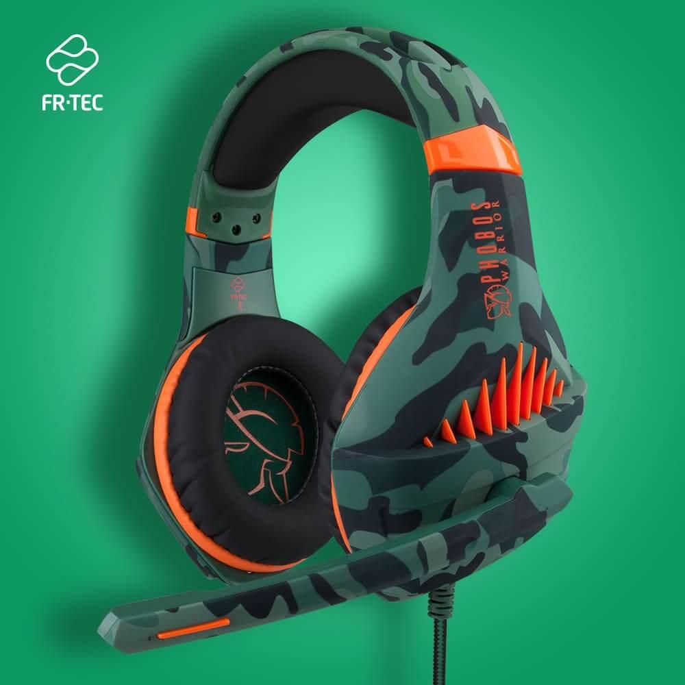 NP: FR-TEC lanza la versión actualizada de sus auriculares PHOBOS WARRIOR de venta exclusiva en Media Markt