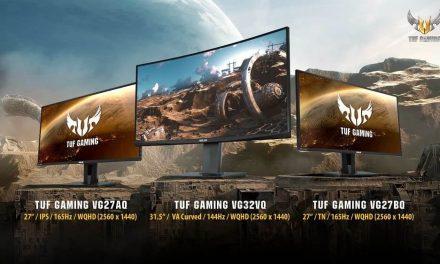 NP: ASUS anuncia la disponibilidad de los nuevos monitores TUF Gaming VG32VQ, VG27AQ y VG27BQ