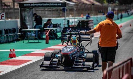NP: RS Components se vuelca con la Formula Student Spain