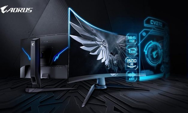 NP: ¡Lanzado AORUS CV27Q, el primer monitor táctico  Black Equalizer 2.0 del mundo!