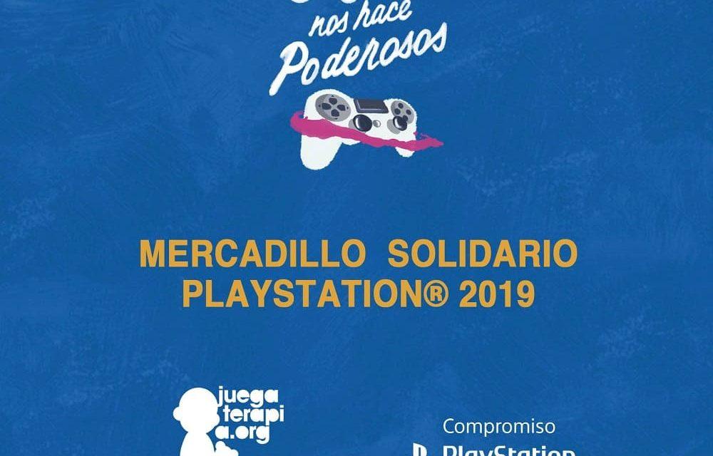 NP: PlayStation recauda 17.827€ para Juegaterapia en su Mercadillo Solidario'19