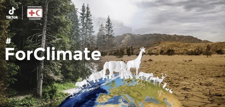 NP: TikTok y la Federación Internacional de Sociedades de la Cruz Roja y de la Media Luna Roja (IFRC)  unen fuerzas para luchar contra el cambio climático
