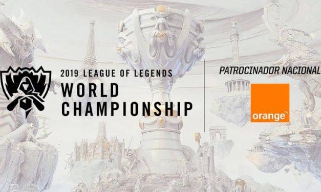 NP: Orange será patrocinador de los Worlds de League of Legends, la mayor competición mundial de eSports, en sus fases madrileñas