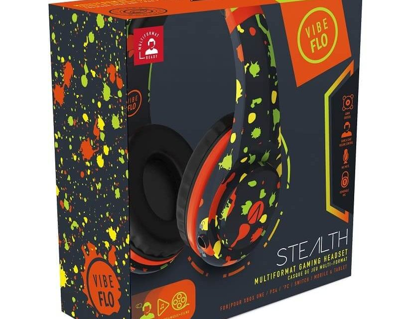 NP: STEALTH por denominación, pero no siempre por naturaleza, lanzando unos elegantes y llamativos auriculares que destacan en XP Lifestyle