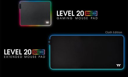 NP: Juega bajo control total con los Level 20 RGB Gaming Mouse Pad Series, de Thermaltake Gaming
