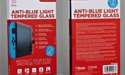 NP: FR-TEC pone a la venta el primer cristal templado para Nintendo Switch con filtro de luz azul HEV