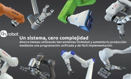 NP: OnRobot extiende la compatibilidad de sus efectores finales con el lanzamiento de su nueva solución One-System