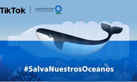 NP: #SalvaNuestrosOceanos junto con TikTok y Conservation International