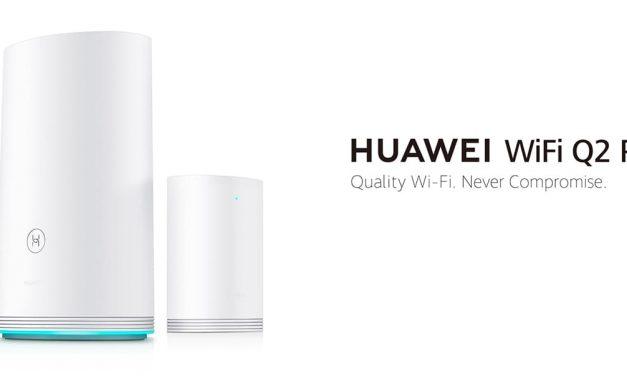 NP: Huawei presenta el nuevo WiFi Q2 Pro en IFA