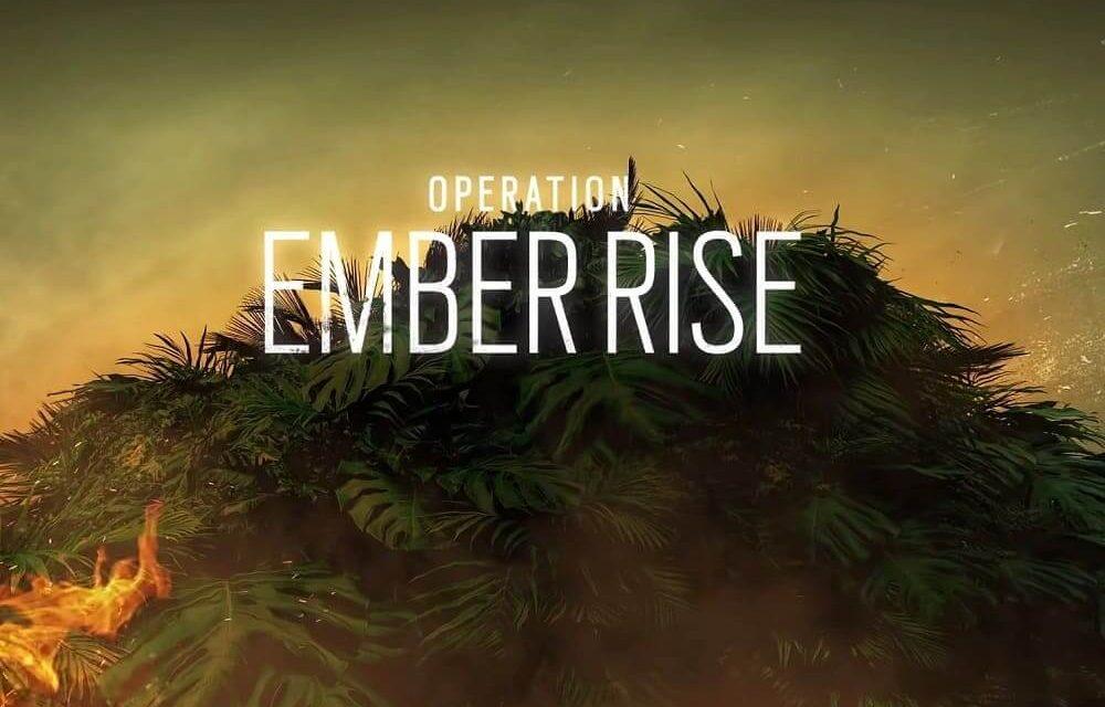 NP: La Operación Ember Rise de Tom Clancy's Rainbow Six Siege ya está disponible