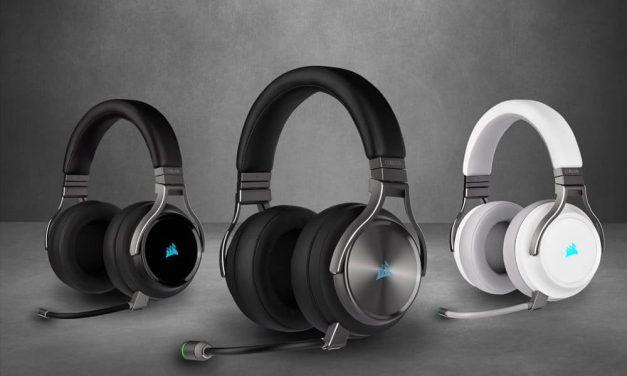NP: CORSAIR ofrece un sonido increíble y una claridad impecable con los nuevos auriculares de juego VIRTUOSO RGB Wireless
