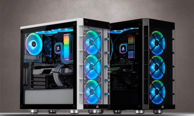 NP: CORSAIR lanza el chasis inteligente iCUE 465X RGB, la opción clara en cuanto a iluminación RGB brillante