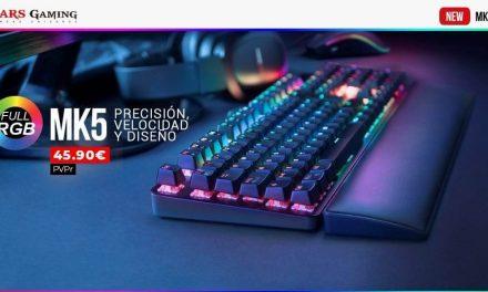 NP: Nuevo teclado mecánico MK5 – La nueva revolución mecánica de Mars Gaming