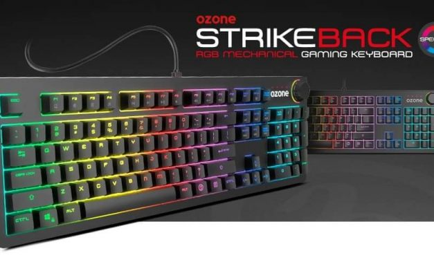 NP: Nuevo teclado Ozone StrikeBack