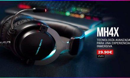 NP: Nuevos auriculares MH4X – La tecnología más avanzada para una experiencia inmersiva
