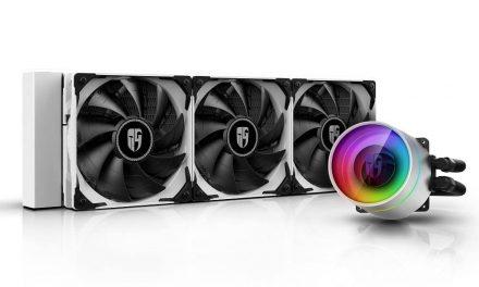 NP: Deepcool lanza el sistema de refrigeración líquida para CPU CASTLE 360EX WHITE