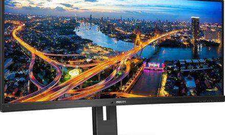 NP: MMD lanza el monitor Philips 346B1C con puerto USB-C
