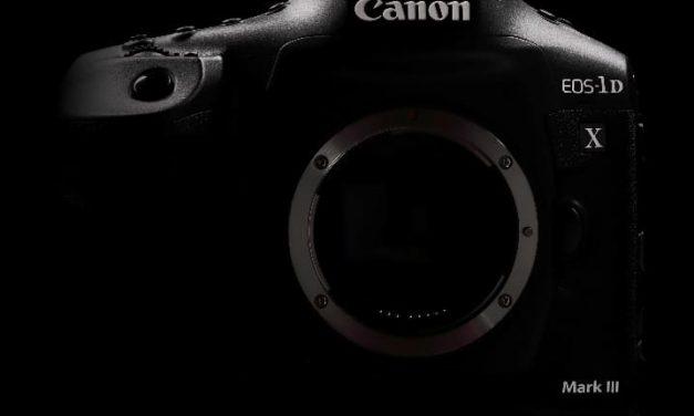 NP: La nueva estrella de la acción: Canon Inc. anuncia el desarrollo de la EOS-1D X Mark III
