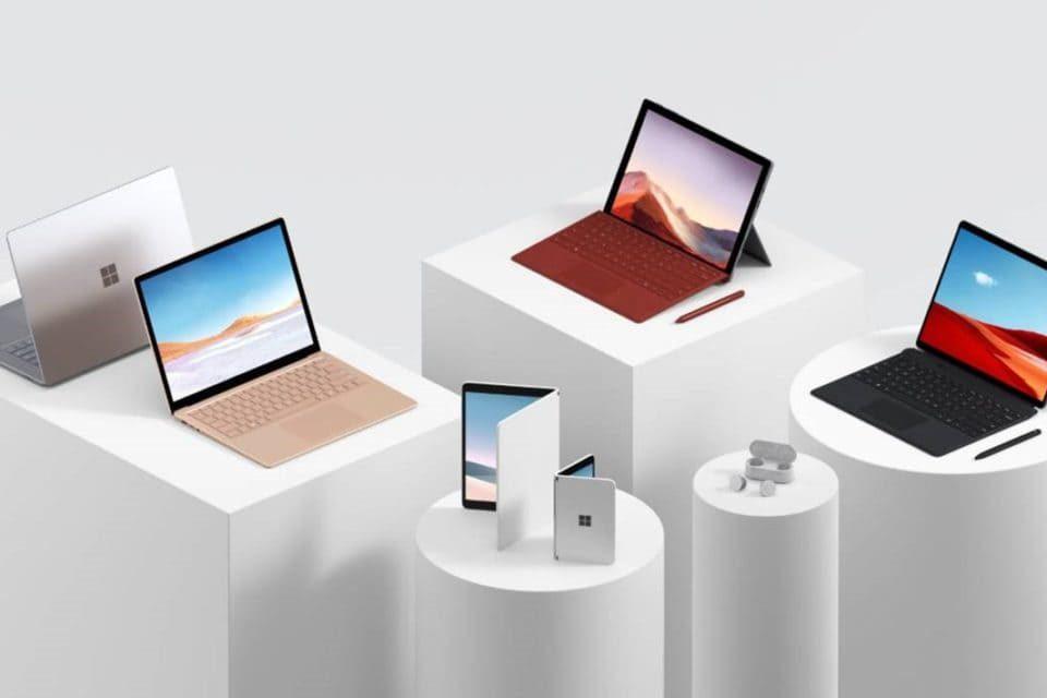 NP: Microsoft renueva su gama Surface e innova en productividad móvil con dispositivos de doble pantalla