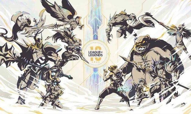 NP: Riot Games celebra el 10.º aniversario de League of Legends  con la comunidad global