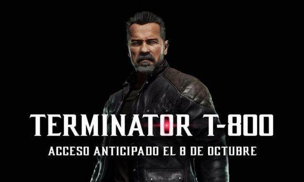 NP: Terminator T-800 disponible a partir del 8 de octubre como parte del Kombat Pack de Mortal Kombat 11
