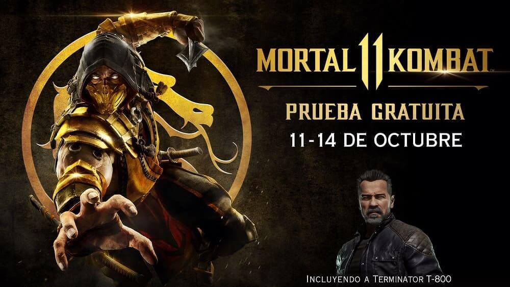 NP: Fin de semana gratuito de Mortal Kombat 11