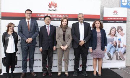 NP: El Smartbus de Huawei España llega a las escuelas de Madrid para fomentar la educación y responsabilidad digital entre sus alumnos