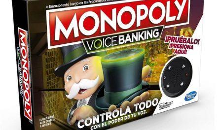 NP: Hasbro presenta Monopoly Voice Banking, la primera edición del juego que incluye control por voz mediante un altavoz inteligente