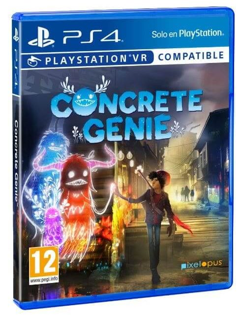 NP: Concrete Genie está disponible desde hoy en exclusiva para PlayStation 4 y PlayStation VR