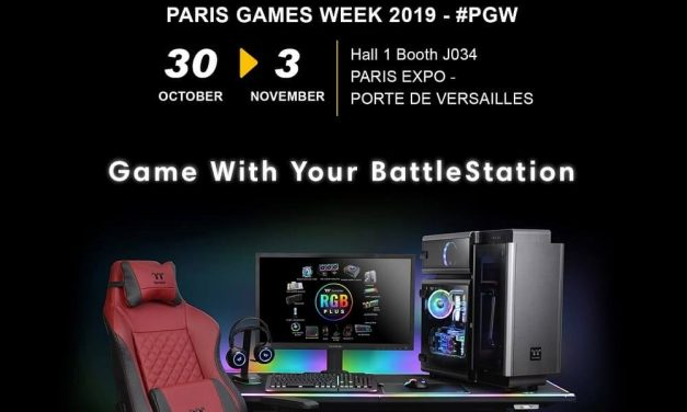 NP: Thermaltake asistirá a la Paris Games Week 2019