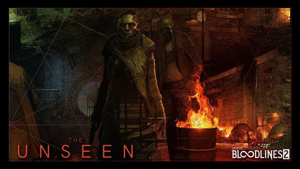 NP: Los Unseen, la quinta y defintiiva facción de Vampire: The Masquerade - Bloodlines 2