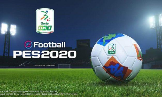 NP: Konami anuncia la licencia de la serie Serie BKT Italia próximamente en eFootball PES 2020