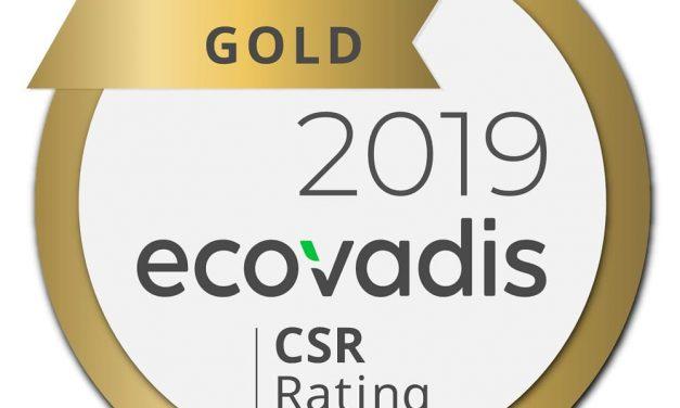 NP: Canon, galardonada con la calificación de oro en sostenibilidad de EcoVadis