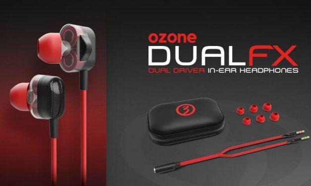 NP: Nuevos auriculares intraurales Ozone Dual FX