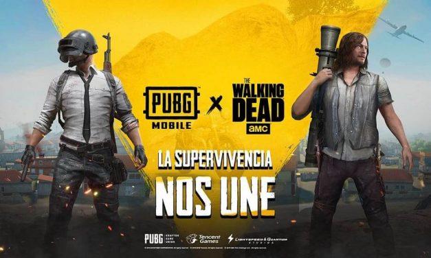 NP: PUBG MOBILE anuncia su asociación con la serie de AMC: The Walking Dead