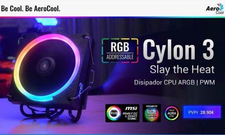 NP: Nuevos disipadores CYLON de AeroCool – Protege tu procesador con la mejor iluminación: CYLON 3 y CYLON 4