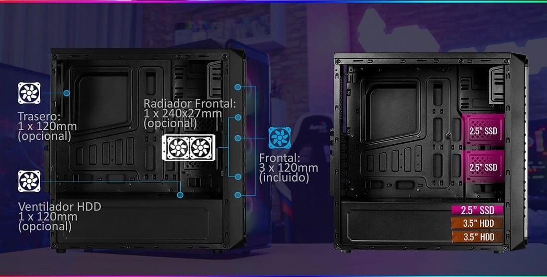 NP: Nueva semitorre SI5200FROST - Estilo, calidad y refrigeración