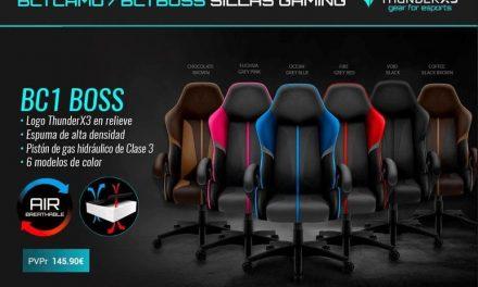 NP: Nueva silla BC1 Boss – Domina el juego con la nueva BC1 BOSS