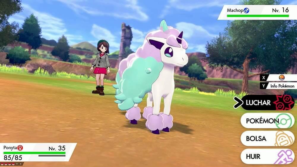 NP: Un nuevo Pokémon descubierto en la región de Galar