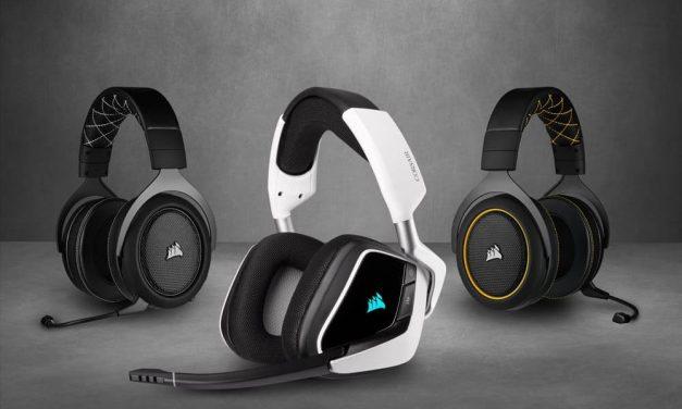 NP: CORSAIR actualiza su gama de auriculares con los nuevos VOID ELITE y HS PRO